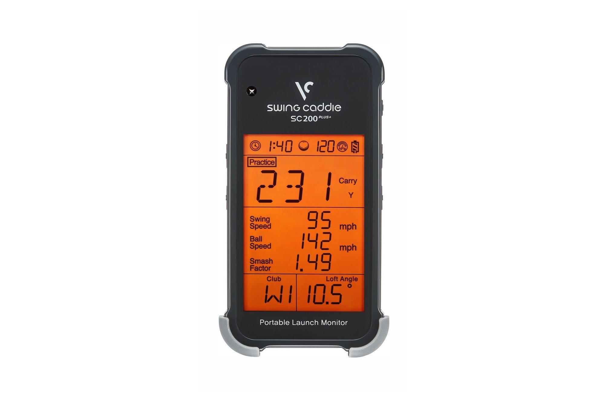 Portable Launch Monitor Swing Caddie SC200 Plus Golf