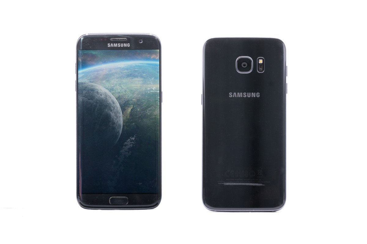 Mobiles And Wearables Spigen Neo Hybrid Case For Samsung Galaxy S7 Edge Black Pearl Sm G935f Replacement Box Grade C