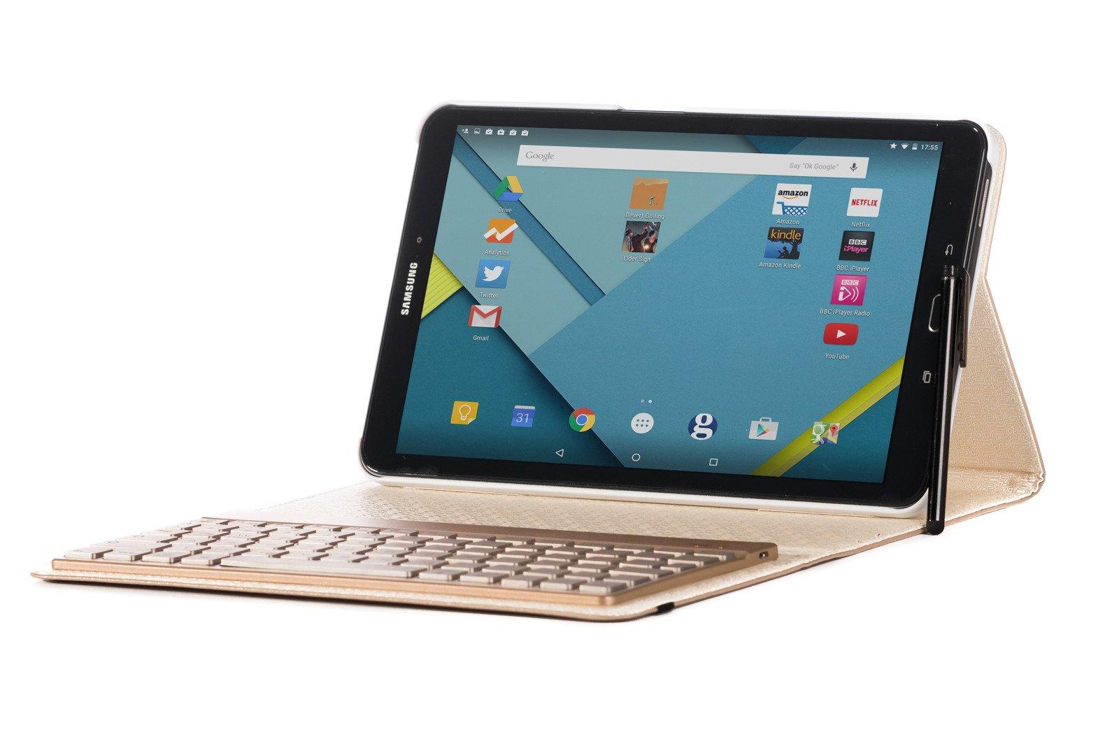 KVAGO Samsung Galaxy Tab A 10 1 Case with detachable keyboard
