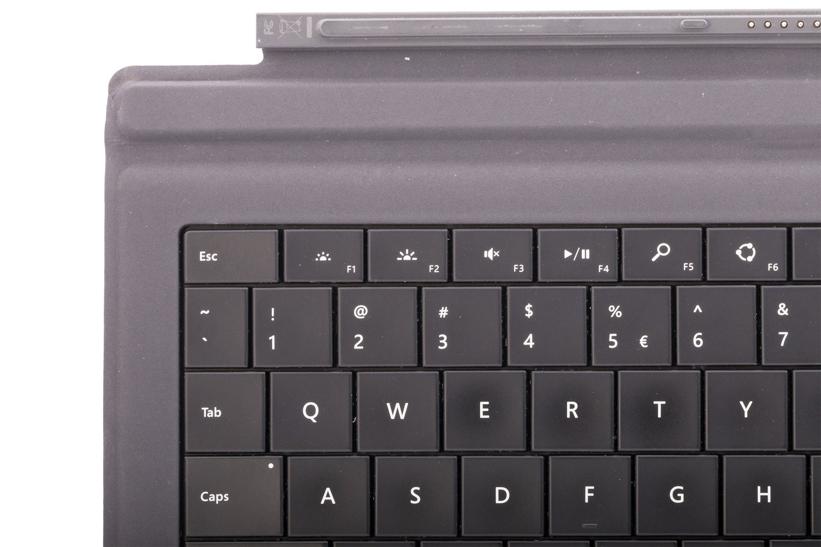 Microsoft Surface Pro 3 Type Cover Keyboard Black Fingerprint Bnib International A7z 00001 Grade C