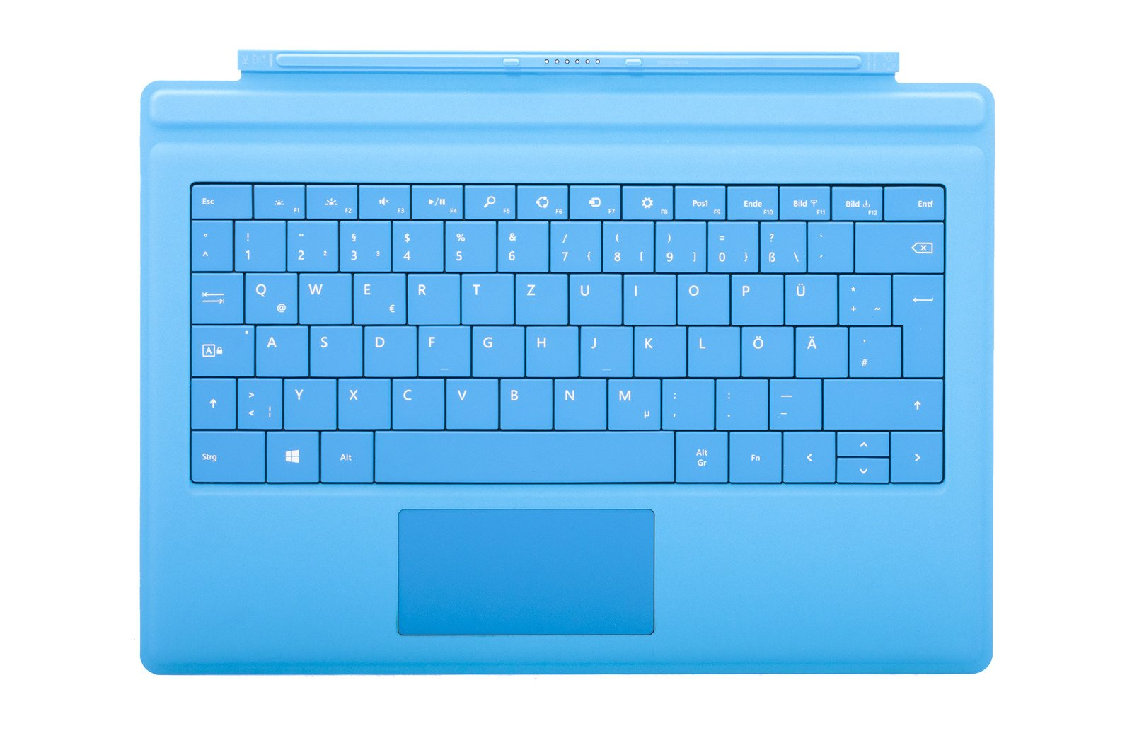 Keyboard Surface Type Cover Pro 3 Cyan Grade A (German)