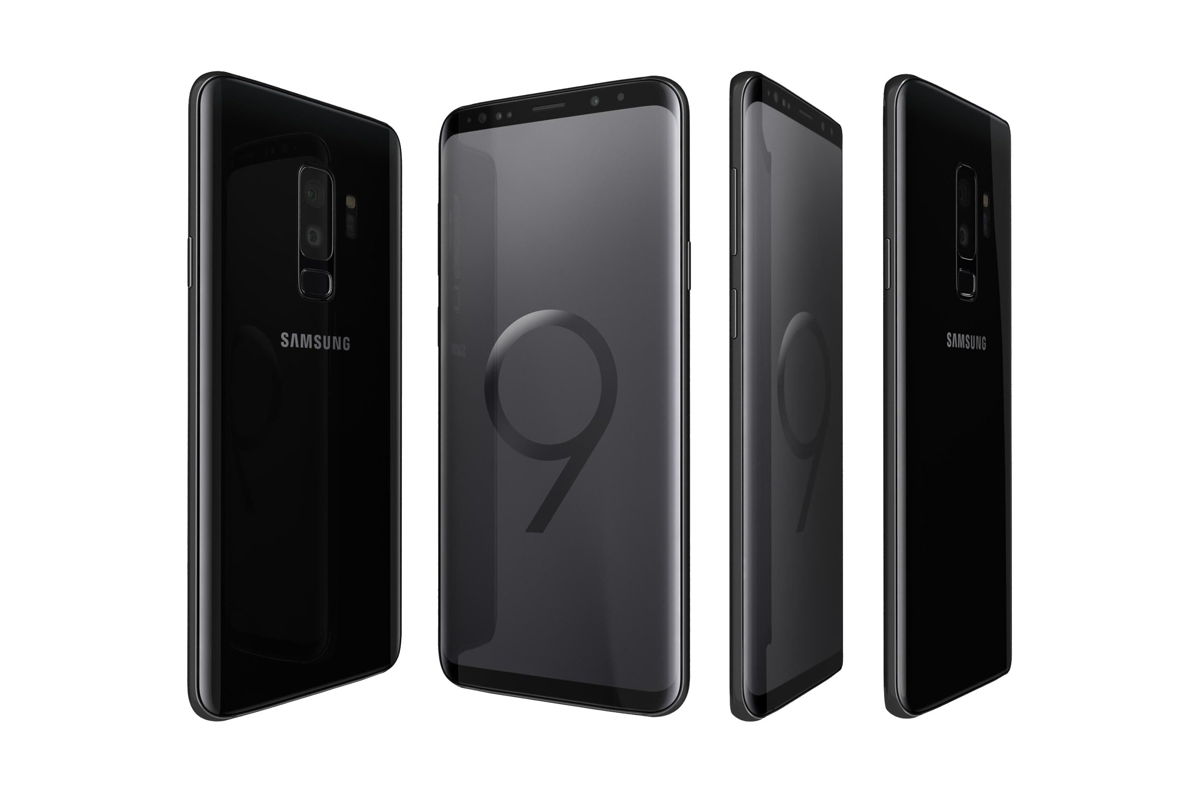 samsung galaxy s9 duos midnight black sm g965f ds grade b mobiles and wearables phones and. Black Bedroom Furniture Sets. Home Design Ideas