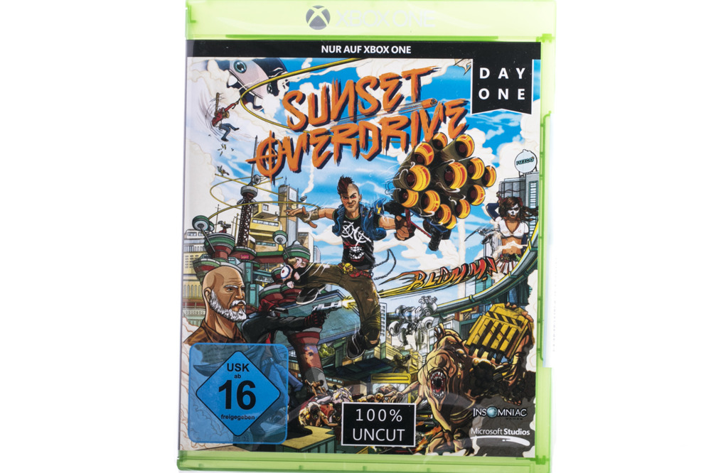 Sunset Overdrive Day One xbox one