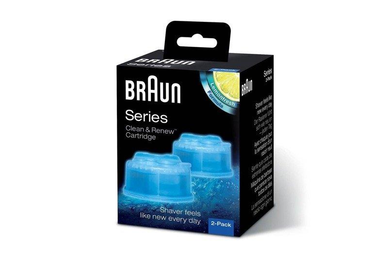 Braun Clean & Renew Cartridge 2-pack Series 3-9