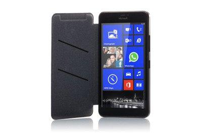 Microsoft Lumia 640 xl black with case