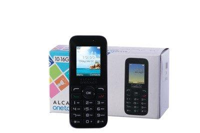 Phone Alcatel ONETOUCH 10.16G GSM Black Grade B