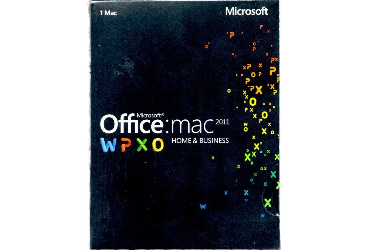 Microsoft Office 2011 Mac Home & Business W6F-00194 BOX EUROZONE Medialess FR