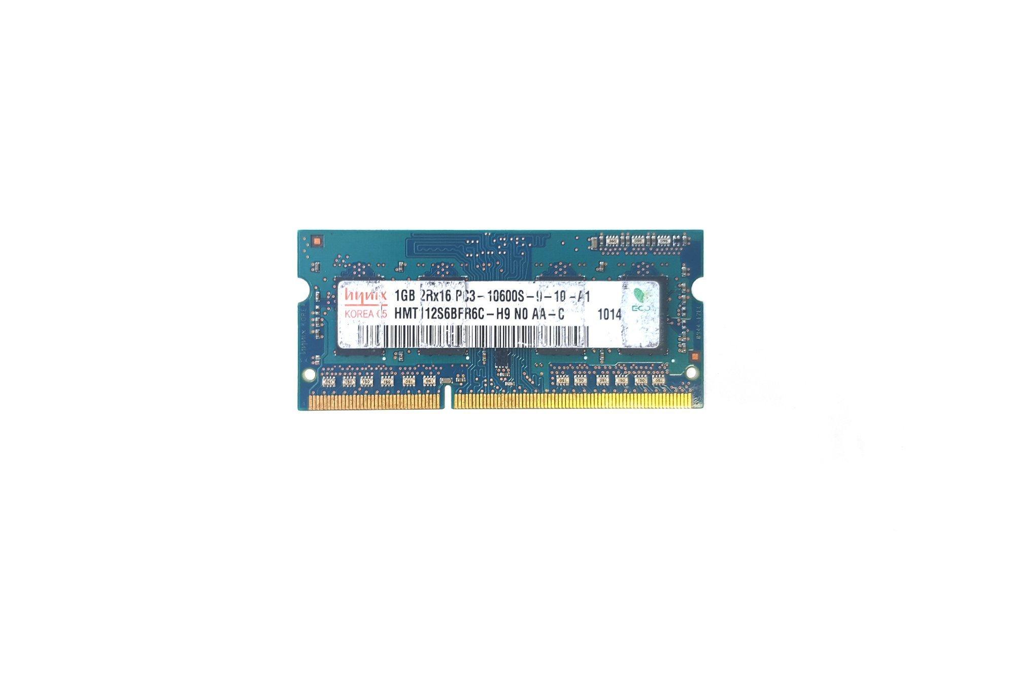Pamięć SODIMM RAM Hynix 1GB DDR3 HMT112S6BFR6C-H9