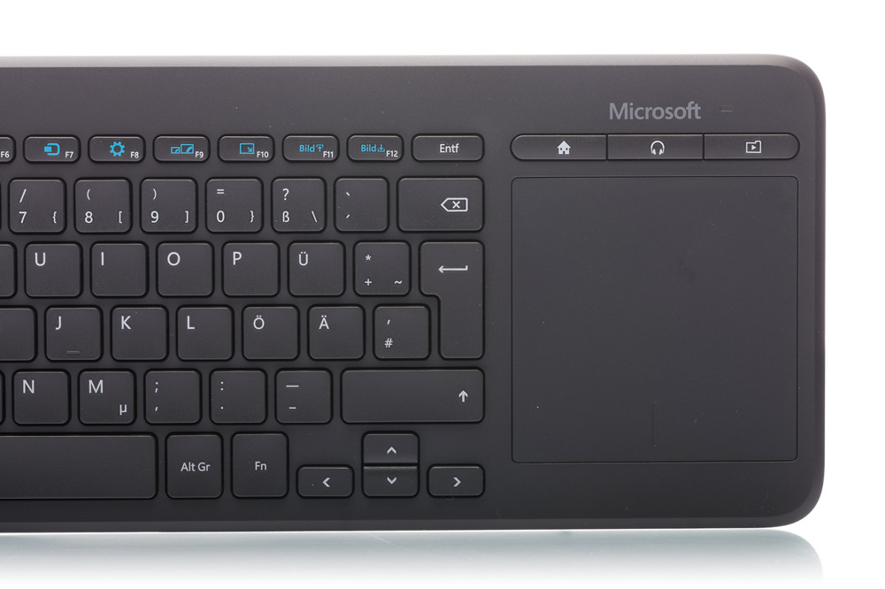 Klawiatura Microsoft All in One Media (niemiecka)