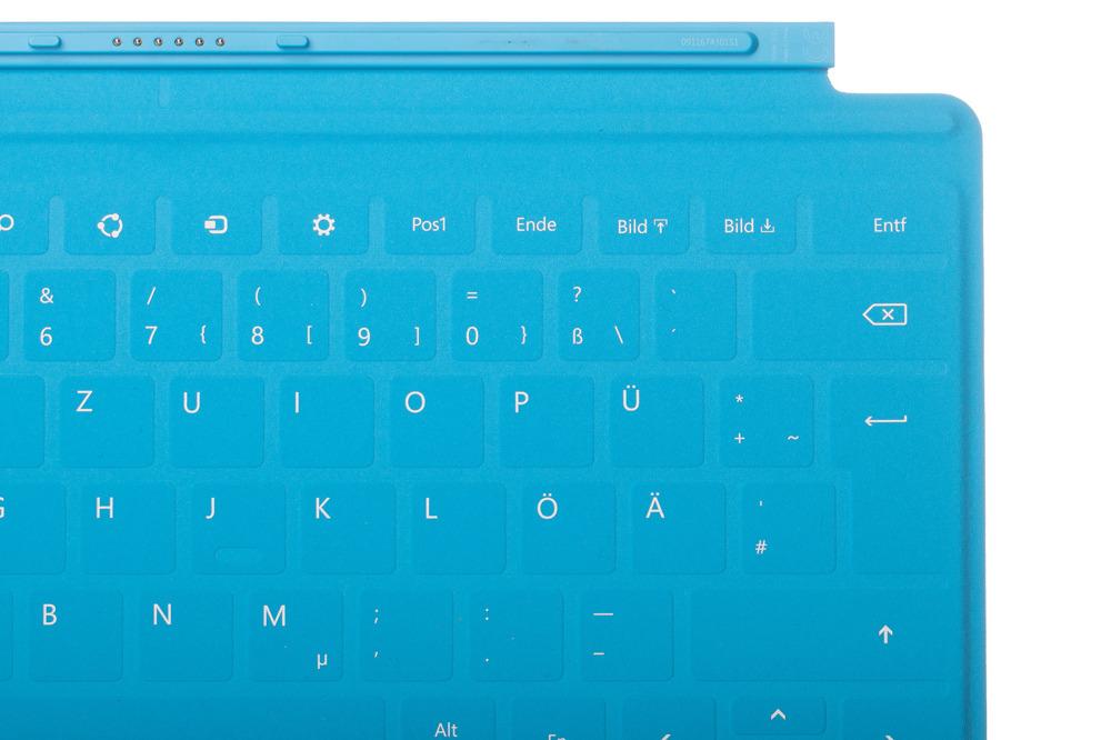 Klawiatura Microsoft Surface Touch Cover niemiecka
