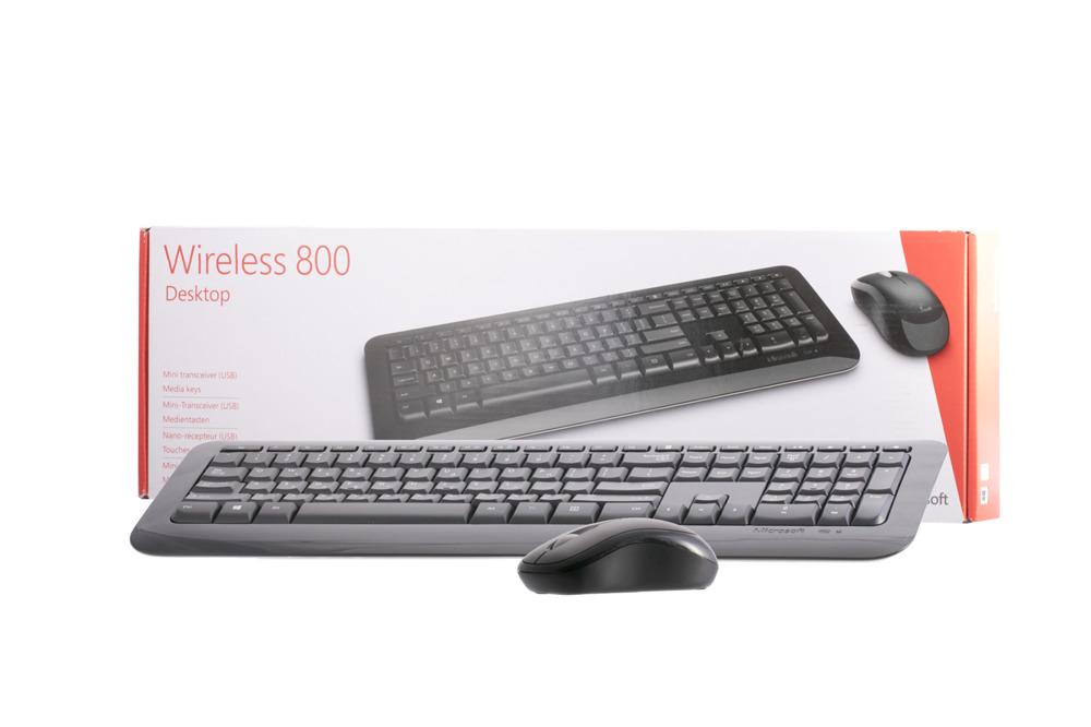 Klawiatura Microsoft Wireless 800 Desktop (Grecka)