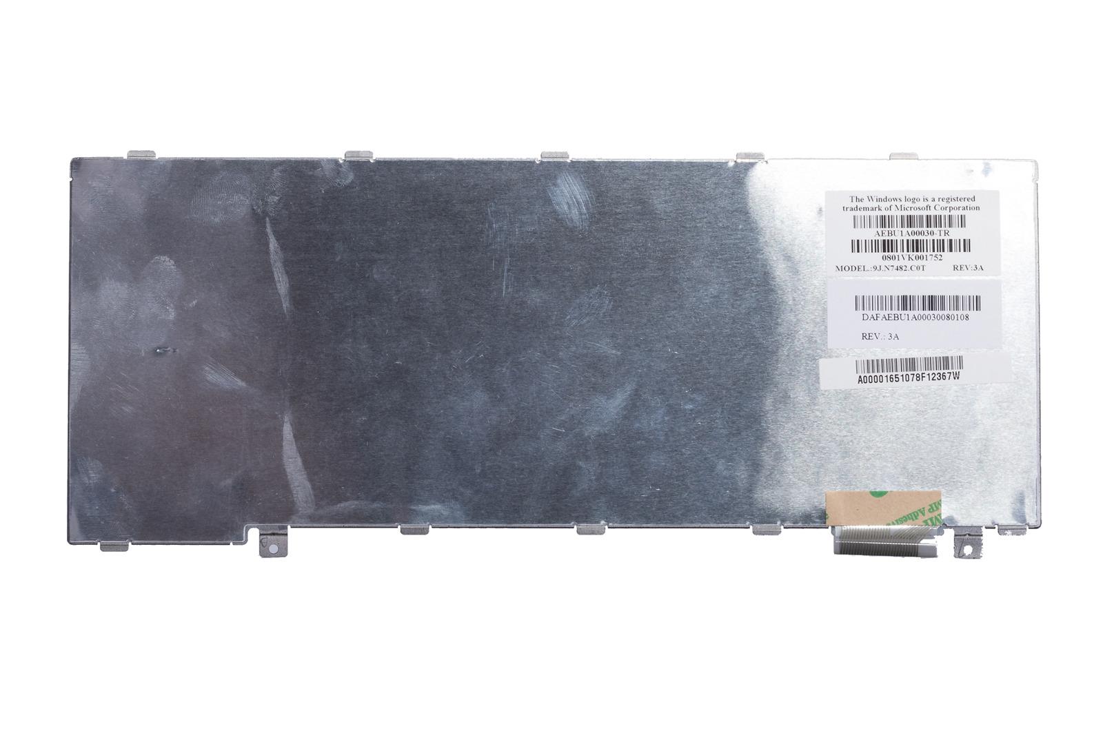 Klawiatura Toshiba U300 9J.N7482.C0T (Turecki)