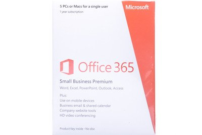 Office 365 Small Business Premium Roczna subskrypcja Middle East Medialess